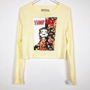 Snoop Dogg Graphic Crop Top